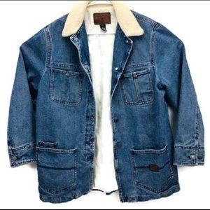 Vtg 90's Ralph Lauren Denim Company Chore Jacket